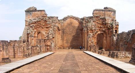 paraguay jezuiet ruines